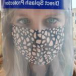 Kate Coulson face in full visor/mask mode!