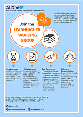 LearnHigher Working Group Poster