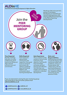 Peer Mentoring Group Poster