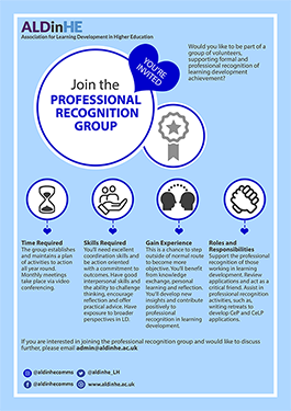 Professional Recognition Group Poster
