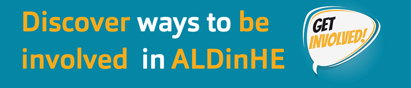 Get involved in ALDinHE