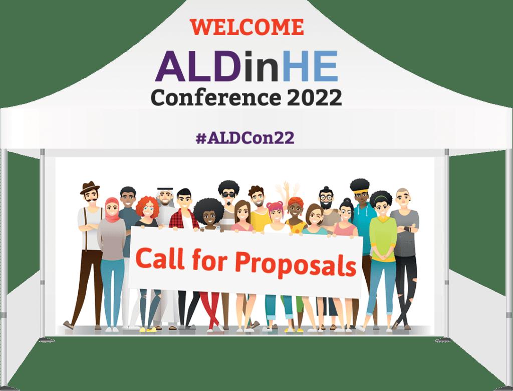 Proposals Tent for ALDcon22
